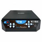Machine à lire Koba EasyReader pour malvoyants et non-voyants. Lecture claire des documents. Autonome sur batterie