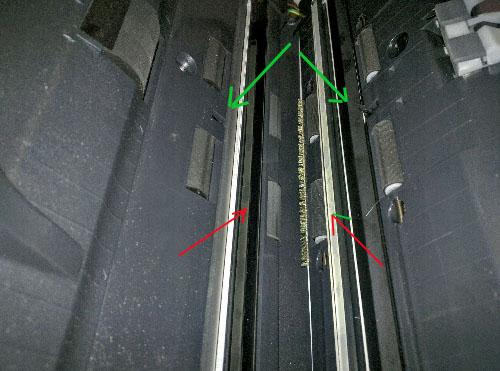 Scanner, capteurs et rouleaux d'un scanner